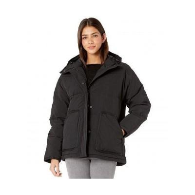 Madewell レディース 女性用 ファッション アウター ジャケット コート ダウン・ウインターコート Holland Quilted Puffer Parka - True Black