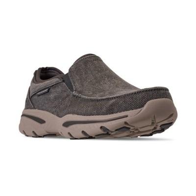 スケッチャーズ スニーカー シューズ メンズ Men's Creston Moseco Slip-On Casual Sneakers from Finish Line CHARCOAL