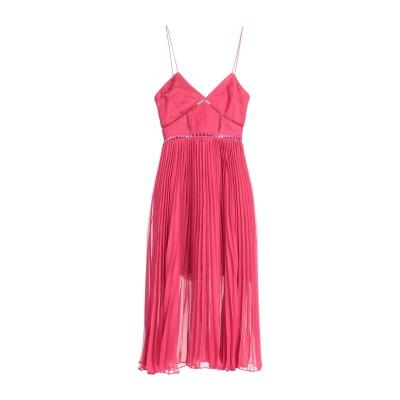 SELF-PORTRAIT 7分丈ワンピース・ドレス ガーネット 10 ポリエステル 100% / ナイロン 7分丈ワンピース・ドレス