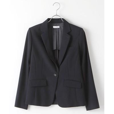 SUIT CLOSET/スーツクローゼット 定番スーツ 無地1つボタンジャケット ネイビー 36