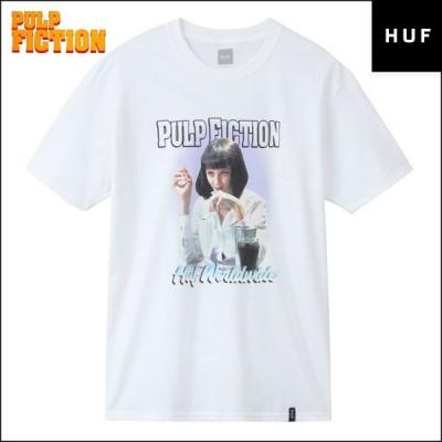 huf ハフ Tシャツ パルプフィクション メンズ レディース HUF × PULP FICTION コラボ Tシャツ 半袖 即発可