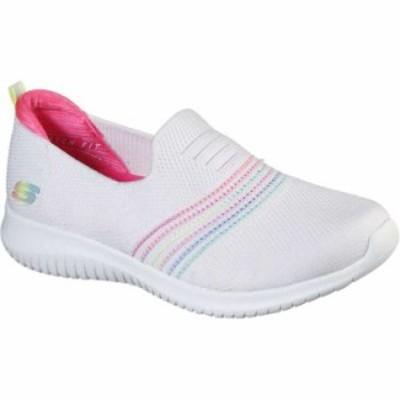 スケッチャーズ SKECHERS ULTRA FLEX-SERENE AURA レディース [サイズ:24.0cm] [カラー:ホワイト×マルチ] #149179-WMLT 靴