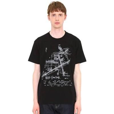(グラニフ) graniph Tシャツ サウンドアーキテクト (ブラック) メンズ レディース SS (g100) (g107)