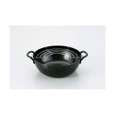 和平フレイズ 天ぷら鍋 揚げる フライ 匠弥 20cm 鉄 共柄 IH対応 日本製 燕三条 TY-044