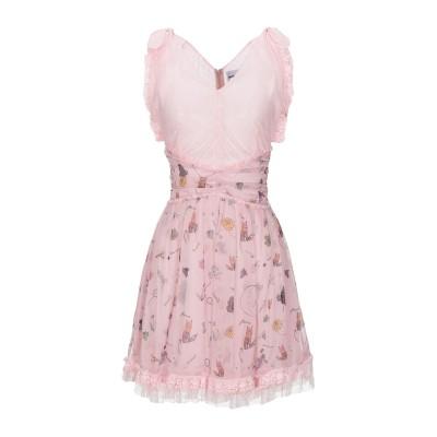 オージュールルジュール AU JOUR LE JOUR ミニワンピース&ドレス ピンク 40 ナイロン 100% / ポリエステル ミニワンピース&