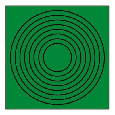 ゲージマーカー円形(10枚1組)446-86
