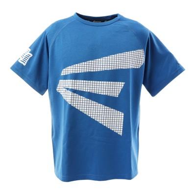 イーストン野球Tシャツ ブリスターニット ビッグE 半袖Tシャツ EA7GSA02-043 スポーツ 一般ロイヤルブルー