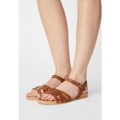 アンナフィールド レディース 靴 シューズ Sandals - cognac