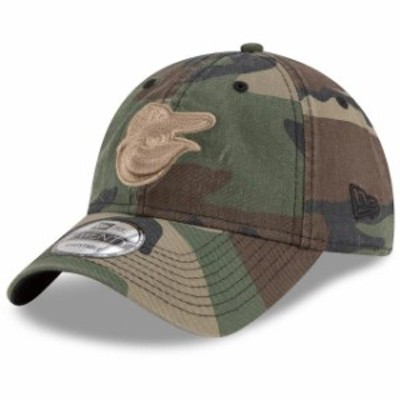 New Era ニュー エラ スポーツ用品  New Era Baltimore Orioles Camo Tonal Core Classic 9TWENTY Adjustable Hat