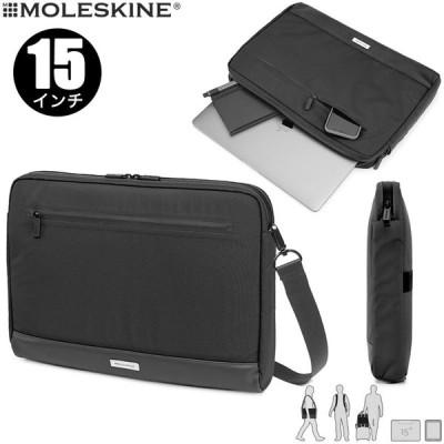 モレスキン バッグ メトロ ホリゾンタルデバイスバッグ 15インチ ブラック(600905)(5181664)【MOLESKINE ショルダーバッグ】