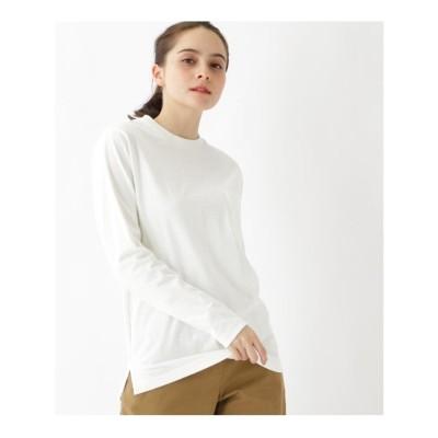 ベース コントロール BASE CONTROL 【WEB限定】長袖 ヘビーウェイトポケットTシャツ クルーネック (アイボリー)