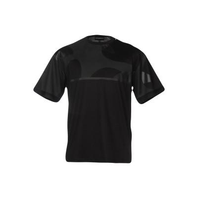 エンポリオ アルマーニ EMPORIO ARMANI T シャツ ブラック M コットン 100% T シャツ
