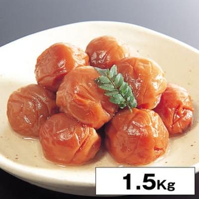【1.5kg】紀州南高梅 塩分約4%はちみつ梅