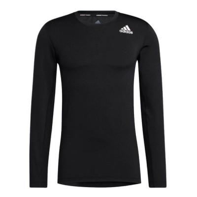 アディダス 47889 テックフィットコンプレッション長袖Tシャツ [メンズ]メール便選択で送料無料 2021春夏