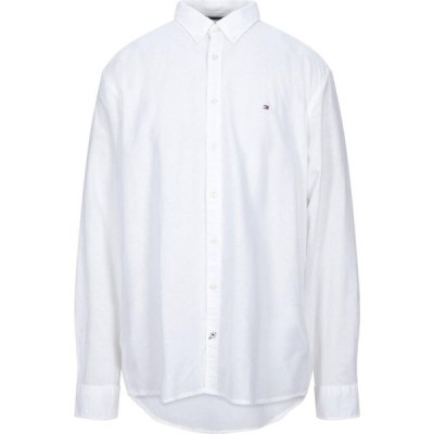 トミー ヒルフィガー TOMMY HILFIGER メンズ シャツ トップス Solid Color Shirt White