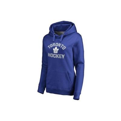 ファナティックス アイスホッケー NHL アメリカ USA 全米 ナショナルリーグ Toronto Maple Leafs レディース Royal Overtime プルオーバーパーカー