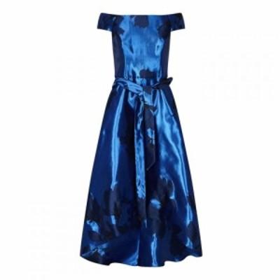アリエラ ロンドン Ariella London レディース ワンピース ワンピース・ドレス Ariella Naida Jacquard Scoop Dress ROYAL
