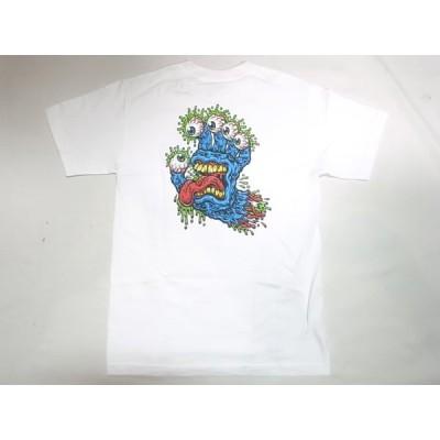 SANTACRUZ サンタクルーズ GNAR HAND Tシャツ 白 ホワイト