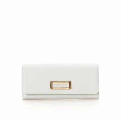 サマンサタバサプチチョイス ゴールドフレームシリーズ(長財布) グレー