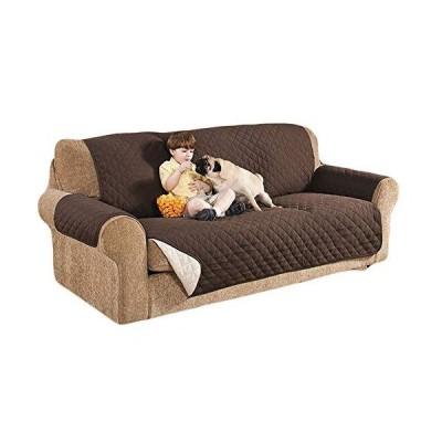 k-city(ケーシティ) ソファカバー ペット 犬 猫 ソファー カバー シート 椅子 3人掛 ブラウン