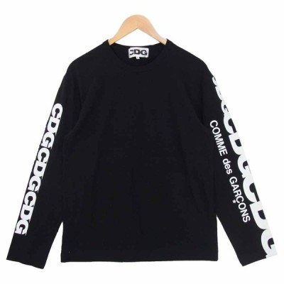 COMME des GARCONS コムデギャルソン SZ-T007 AD2020 CDG シーディージー アームプリント Tシャツ L【美品】【中古】