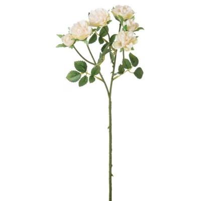 特価 即日 造花 YDM ミニローズスプレー クリーム FA-7151-CR 造花 花材「は行」 バラ