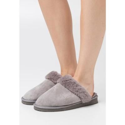 レディース 靴 シューズ Slippers - grey
