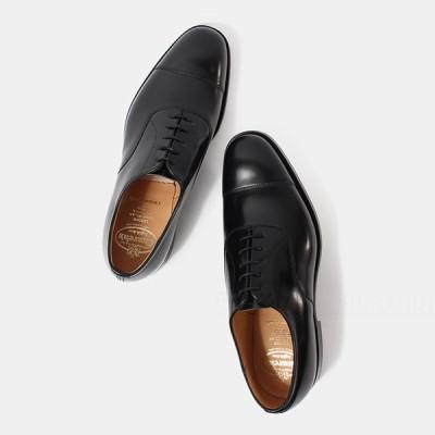 チャーチ Church's メンズ コンサル CONSUL ストレートチップ ビジネスシューズ 革靴 BLACK 7811/11 EEB003-9WF 送料無料