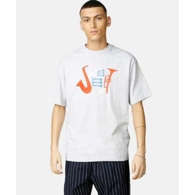 tシャツ Tシャツ T-Shirt 90's Loose Ensemble/Light Grey