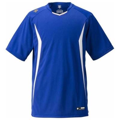 デサント ベースボールシャツ(DROY・サイズ:O) DESCENTE BASEBALL SHIRT(レギュラーシルエット) DS-DB120-DROY-O 返品種別A