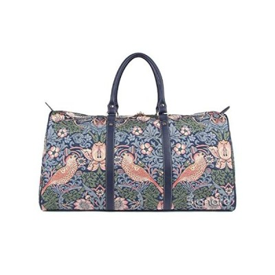 Signare Tapestry Large Duffle Bag Overnight Bags Weekend Bag for Women stra