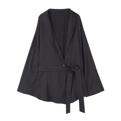 【ラグナムーン/LAGUNAMOON】 LADYライトサテンジャケット【セットアップ着用可】