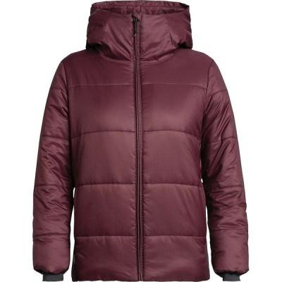 アイスブレーカー Icebreaker レディース パーカー フード トップス Collingwood Hooded Jacket Velvet