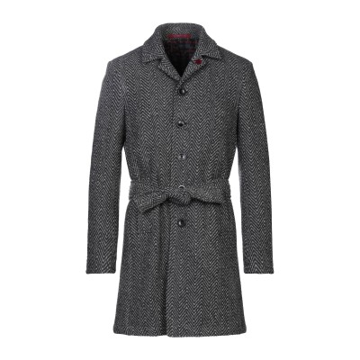 GIACCHE' コート スチールグレー 52 ウール 80% / ナイロン 20% コート