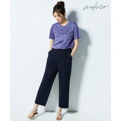 【NEW】自由区 L(JIYUKU L)/【Unfilo】LINEN LIKE PANTS イージーパンツ