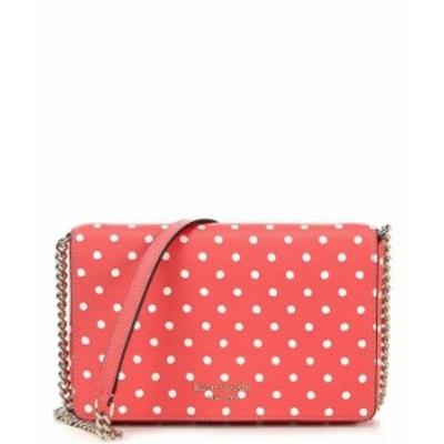 ケイトスペード レディース ショルダーバッグ バッグ Spencer Polka Dot Chain Crossbody Bag Peach Melba Multi