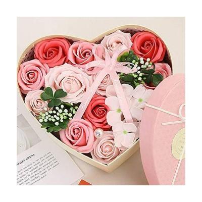 バラ型ソープフラワー ソープフラワー プレゼント 造花 花束 花 バラ型 枯れない花 石鹸花 母の日ギフト バレ?
