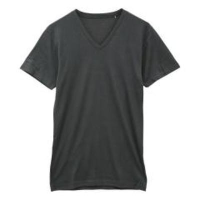 SHIROHATO(シロハト)【メール便(10)】 (ジュエル)Jewel 温度調節 インナー 半袖 Tシャツ Vネック メンズ
