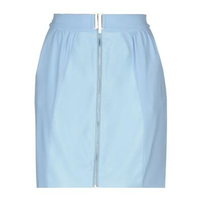 BETTY BLUE ミニスカート アジュールブルー 40 100% ポリエステル レーヨン ミニスカート