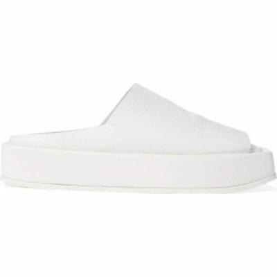 マルセル Marsell レディース サンダル・ミュール スライドサンダル シューズ・靴 Soft Square Platform Slide Sandal Optical White