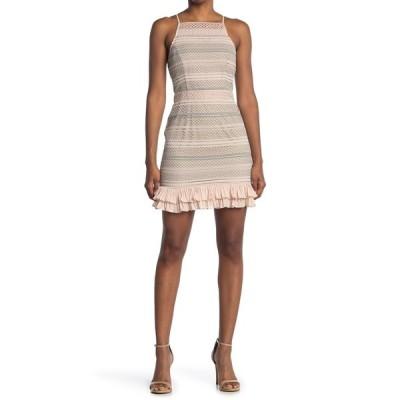 アドレイン ラエ レディース ワンピース トップス Kirstyn A-Line Dress SAND MULTI