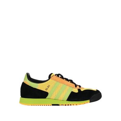 ADIDAS ORIGINALS スニーカー&テニスシューズ(ローカット) イエロー 11 革 / 紡績繊維 スニーカー&テニスシューズ(ローカット)