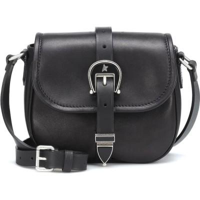 ゴールデン グース Golden Goose レディース ショルダーバッグ バッグ Rodeo Small Leather Crossbody Bag Black