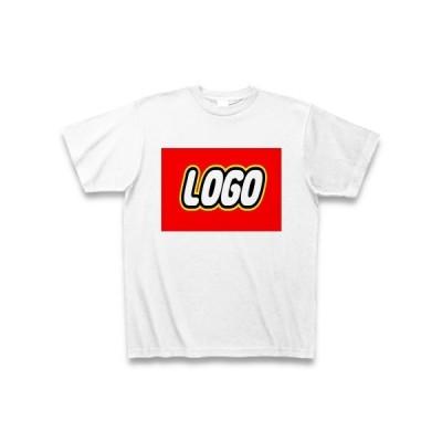 【LEGO風】LOGO Tシャツ(ホワイト)