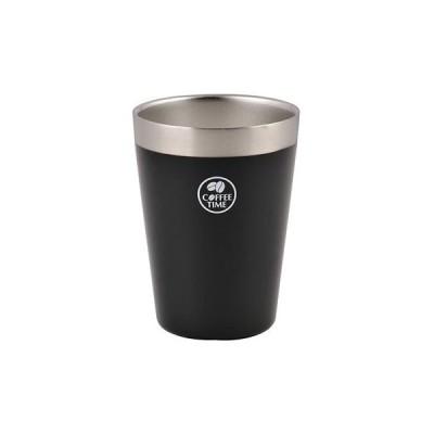 真空アイスコンビニカップ パール金属 HB-1896 ブラック