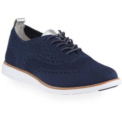 コールハーン レディース スニーカー シューズ Original Grand Stitchlite Oxford Sneakers, Blue