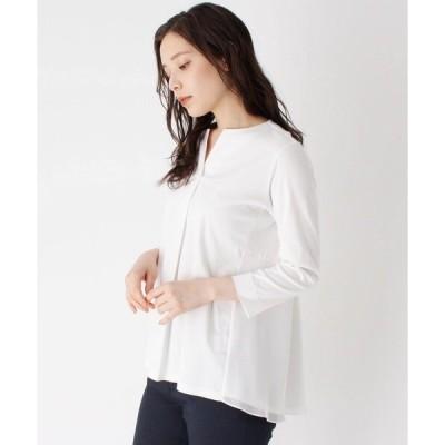 tシャツ Tシャツ バックペプラムスムースプルオーバー