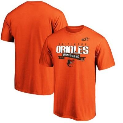 ユニセックス スポーツリーグ メジャーリーグ Baltimore Orioles Fanatics Branded 2020 Spring Training Line Drive T-Shirt - Orange