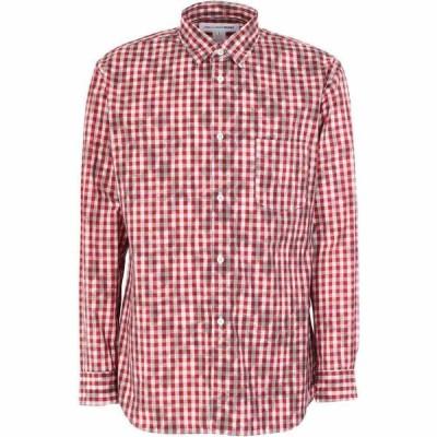 コム デ ギャルソン COMME des GARCONS SHIRT メンズ シャツ トップス checked shirt Red
