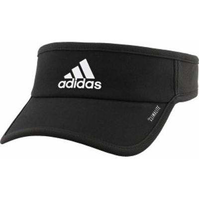 アディダス メンズ 帽子 アクセサリー adidas Men's SuperLite Visor Black/White